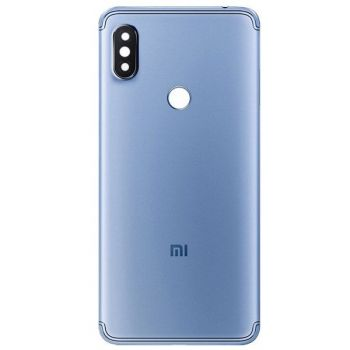 Задняя крышка корпуса Xiaomi Redmi S2 M1803E6G, M1803E6H синяя Оригинал