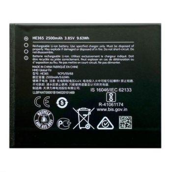 Аккумулятор (батарея) Nokia 1 Plus Dual Sim TA-1130, TA-1111, TA-1123, TA-1127 HE365 2500mAh Оригинал