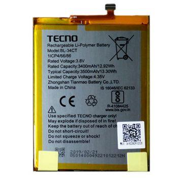 Аккумулятор (батарея) Tecno Camon 11S CB7 BL-34CT 3500mAh Оригинал