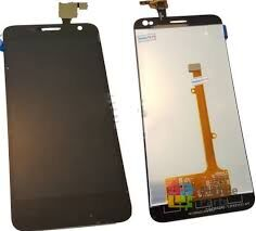 Дисплей (LCD) Alcatel 6012D Idol Mini, 6012X с сенсором чёрный Оригинал