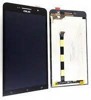 Дисплей (LCD) Asus ZenFone 6 (A600CG, A601CG) с сенсором чёрный + рамка Оригинал