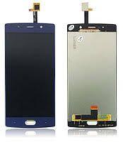 Дисплей (LCD) Doogee BL7000 с сенсором синий (короткий шлейф) Оригинал