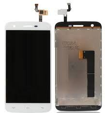 Дисплей (LCD) Doogee F3 с сенсором белый Оригинал