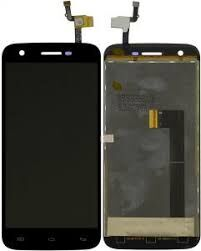 Дисплей (LCD) Doogee F3 с сенсором чёрный Оригинал
