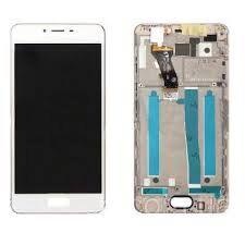 Дисплей (LCD) Meizu M6s с сенсором белый + рамка Оригинал