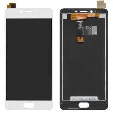 Дисплей (LCD) Meizu E2 (M2e) с сенсором белый Оригинал