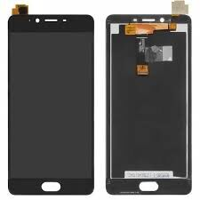Дисплей (LCD) Meizu E2 (M2e) с сенсором чёрный Оригинал