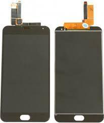 Дисплей (LCD) Meizu M2 Note (M571) с сенсором чёрный желтый шлейф Оригинал