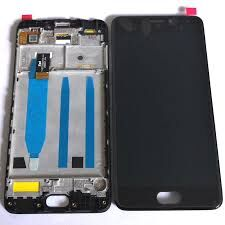 Дисплей (LCD) Meizu M6 Note (M721H) с сенсором чёрный + рамка Оригинал