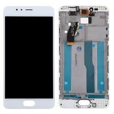 Дисплей (LCD) Meizu M5s (M612), M5s mini с сенсором белый + рамка Оригинал