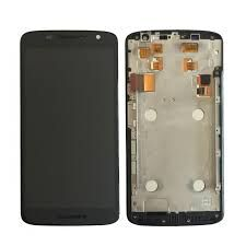 Дисплей (LCD) Motorola XT1561 Moto X Play, XT1562, , XT1563, XT1564 с сенсором чёрный+ рамка Оригинал