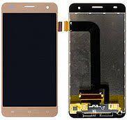Дисплей (LCD) Nomi i506 Shine с сенсором золотой Оригинал