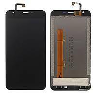 Дисплей (LCD) Oukitel K7000 с сенсором чёрный Оригинал