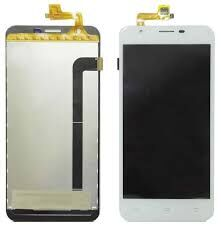 Дисплей (LCD) Oukitel U7 Plus, U7 Max с сенсором белый Оригинал