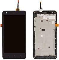 Дисплей (LCD) Xiaomi Redmi S2 (Redmi Y2) с сенсором черный + рамка Оригинал