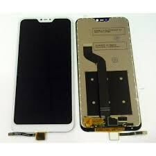 Дисплей (LCD) Xiaomi Mi A2 Lite, Redmi 6 Pro с сенсором белый Оригинал