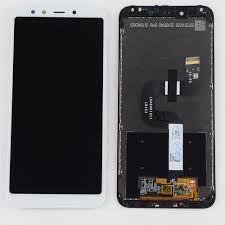 Дисплей (LCD) Xiaomi Mi A2, Mi6X с сенсором белый Оригинал