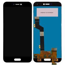 Дисплей (LCD) Xiaomi Mi5c с сенсором чёрный Оригинал