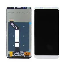 Дисплей (LCD) Xiaomi Redmi 5 Plus с сенсором белый Оригинал