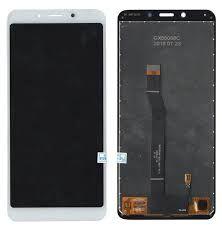 Дисплей (LCD) Xiaomi Redmi 6, Redmi 6A с сенсором белый Оригинал