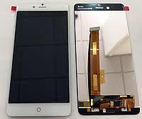 Дисплей (LCD) ZTE Nubia Z17 Mini с сенсором белый Оригинал