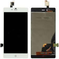 Дисплей (LCD) ZTE Nubia Z9 Mini с сенсором белый Оригинал