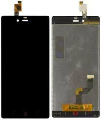 Дисплей (LCD) ZTE Nubia Z9 Mini с сенсором черный Оригинал