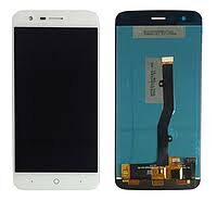 Дисплей (LCD) ZTE V8 Lite с сенсором белый Оригинал