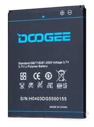 Аккумулятор (батарея) для Doogee DG550 Dagger 2500mAh Оригинал