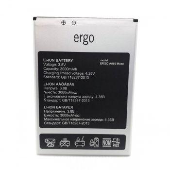 Аккумулятор (батарея) Ergo A550 Maxx Dual Sim 3000mAh Оригинал
