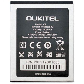 Аккумулятор (батарея) Oukitel C2 1800mAh Оригинал