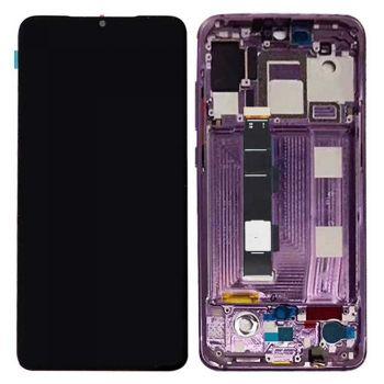 Дисплей Xiaomi Mi9 с сенсором (тачскрином) черный с рамкой Оригинал