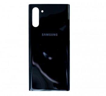 Задняя крышка корпуса Samsung N970 (SM-N970, SM-N970F/DS) Galaxy Note 10 черная Оригинал