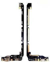 Нижняя плата зарядки (Шлейф зарядки) для Asus ZenFone 2 Laser (ZE550KL, ZE551KL), с разъемом и микрофоном