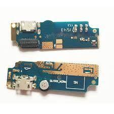 Нижняя плата зарядки (Шлейф зарядки) для Asus ZenFone Max (ZC550KL), QL1502 с разъемом и микрофоном