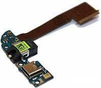 Нижняя плата зарядки (Шлейф зарядки) для HTC One M9  с разъемом наушников, микрофоном