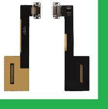 """Нижняя плата зарядки (Шлейф зарядки) для iPad Pro 9.7"""" c разъемом, белый"""
