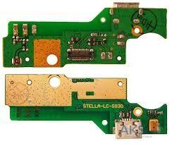 Нижняя плата зарядки (Шлейф зарядки) для Lenovo S930 с разъемом, с микрофоном, плата с разъемом