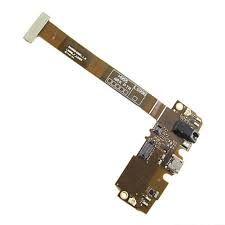 Нижняя плата зарядки (Шлейф зарядки) для LG H955 Optimus G Flex 2  с разъемом наушников, микрофоном