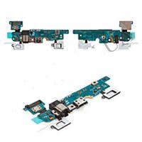 Нижняя плата зарядки (Шлейф зарядки) для Samsung E700F Galaxy E7, с гнездом с разъемом наушников, микрофоном , Home, сен