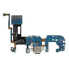 Нижняя плата зарядки (Шлейф зарядки) для Samsung G955 Galaxy S8 Plus (2017) с разъемом, тип-C, с микрофоном