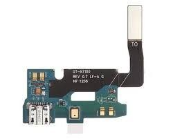 Нижняя плата зарядки (Шлейф зарядки) для Samsung N7100 Galaxy Note 2 с разъемом, микрофоном