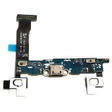 Нижняя плата зарядки (Шлейф зарядки) для Samsung N910 Galaxy Note 4 с разъемом, микрофоном