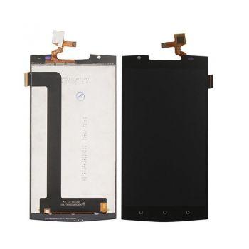 Дисплей (LCD) Oukitel K10000 Pro с сенсором чёрный Оригинал