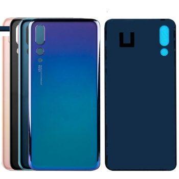 Задняя крышка корпуса Huawei P20 Pro CLT-AL01, CLT-L29, CLT-L09, CLT-AL00L синяя Оригинал