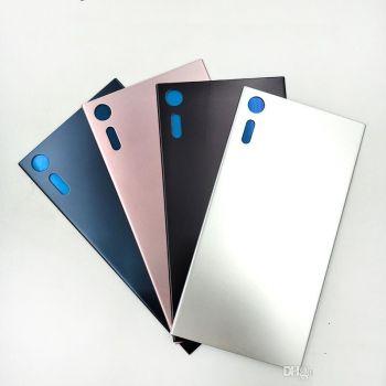 Задняя крышка корпуса Sony F8331, F8332 Xperia XZ Dual Sim серебристая Оригинал