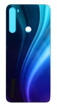 Задняя крышка корпуса Xiaomi Redmi Note 8 M1908C3JG синяя Оригинал