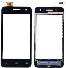 Сенсор (тачскрин) для Alcatel 5050A One Touch Pop S3, 5050X, 5050Y чёрный Оригинал
