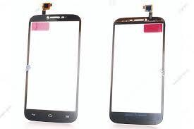 Сенсор (тачскрин) для Alcatel 7047D One Touch Pop C9 чёрный Оригинал