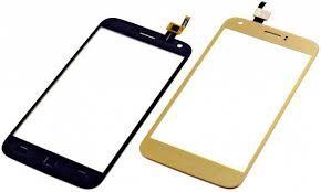 Сенсор (тачскрин) для Ergo A502 золотой Оригинал